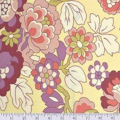 Amy Butler Gypsy Caravan Cutting Garden Linen fabriconline.co.nz