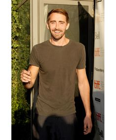 Lee Pace at the Toronto International Film Festival promoting Ceremony, 2010.