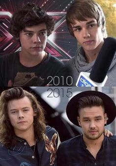 2010 Harry and Liam vs 2015 Harry and Liam | Doenst it just drive you crazy just how fast the night changes