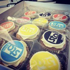 Always happy to receive free cupcakes thanks @STATravelUK #startTheAdventure #cakes #colorful