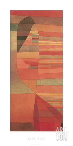 Orpheus, c.1929 Serigraph by Paul Klee at Art.com