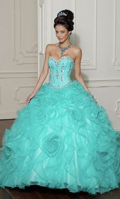 free shipping light blue Quinceanera Dress 2013 [gjl20704-197] - US$324.00 : sellerfromchina.com