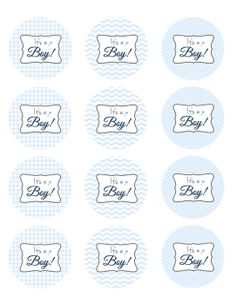 Baby Boy/ It's a Boy/ Baby Shower by ElleCoutureCreations on Etsy, $1.99