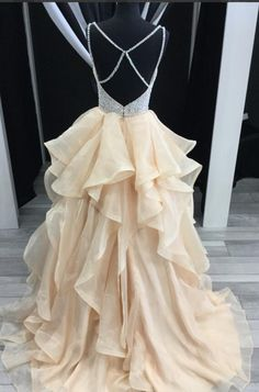 Sparkly Pretty Most Popular Prom Dresses, 2018 #PromDress, #PartyGowns, #Evening dress, 6665752