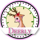 'Deerly' Designed by Annabell Bailor Please check out my clip art for teachers!! Just started an account! Please subscribe if you like!