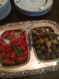 Olives And grape tomatoes simple and delicious