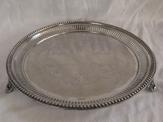 Antique Silber & Fleming Silver Plate Tray