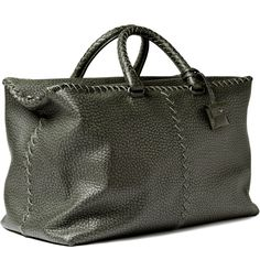 Bottega Veneta Men Leather Weekend Bag 2