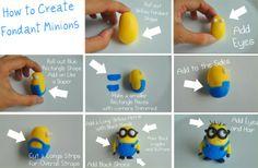 Minions maken van fondant
