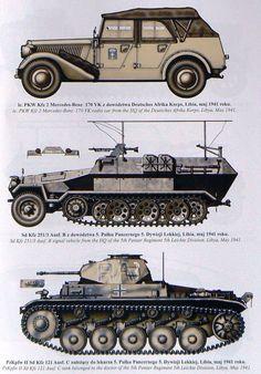 Afrika Korp vehicles
