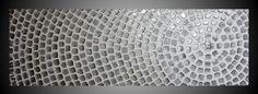 Large painting on canvas Oversized art White and by acrylkreativ