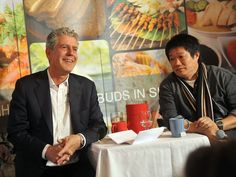 Anthony Bourdain's tips for finding the best food in a foreign city.