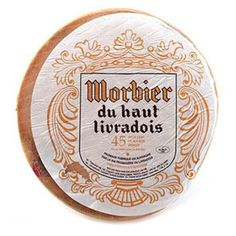 French Cheese Morbier - Montboisse 1 lb.