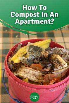 Urban Composting, How To Start Composting, Composting Methods, Composting At Home, Worm Composting, How To Compost, Apartment Vegetable Garden, Vegetable Garden Design, Composting In An Apartment
