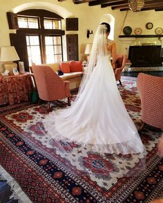 My beautiful bride Katie Griffin catching a quiet moment before her walk down the isle ♥️😃 Lace Weddings, Wedding Dresses, Quiet Moments, Beautiful Bride, In This Moment, Couture, Instagram, Fashion, Alon Livne Wedding Dresses