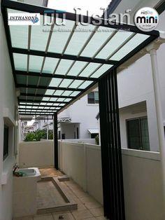แผ่นหลังคาโปร่งแสง มินิ โปรไลท์ (Prolite Translucent Roofing) translucent roofing roof fibreglass FRP