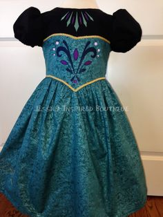 Frozen Inspired Queen Elsa Coronation Dress by Theresafeller, $95.00