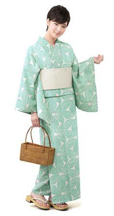 【特選浴衣】小袋帯3点set 24-OB14-HG606set | 浴衣屋さん.com 19,500 円