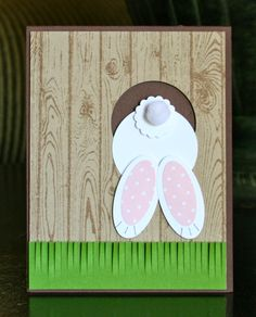 Stampin' Up! Easter by Krystal's Cards and More: Bunny Bottom