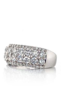 Belk  Co.  Diamond Band in 10k White Gold