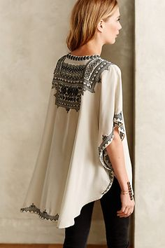Anthropologie Decca Silk Tunic #anthrofav #griegedesign