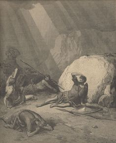 Engraving From The Dore Bible Illustrating Acts Ix 1 To 6 The Conversion Of St Paul By Gustave Dore French Artist And Illustrator Poster Print x Gustave Dore, Bible Illustrations, Religious Paintings, Biblical Art, Christian Wall Art, Oil Painting Reproductions, Bible Art, French Artists, Les Oeuvres