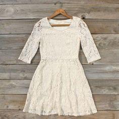 classy lace dress.