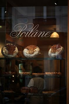 Legendary Boulangerie Poilâne, Paris. Some of the most sought -after breads in the whole world