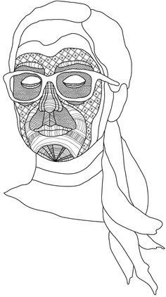 Masques by Patrick Seymour, via Behance