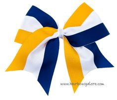 3 Color Cheer Bow