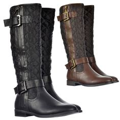 pictures of cute buckle knee high boots  | View All Shoekandi ‹ View All Boots ‹ View All Knee High Boots
