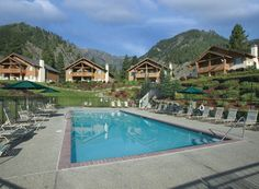 Leavenworth, WA Worldmark Park Village. Beautiful spot in any season and a great place to relax.
