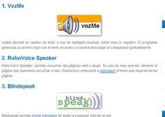Herramientas para convertir texto en voz y voz en texto in http://www.maestrodelacomputacion.net/herramientas-para-convertir-texto-en-voz-y-voz-en-texto/