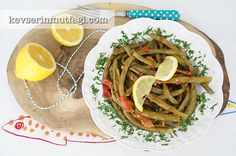 Long Beans With Olive Oil
