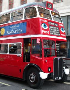Preserved London transport is seen on route 15 towards Tower Hill in the Strand Lieutenant General, Fleet Street, Double Decker Bus, Bus Coach, London Bus, London Transport, Union Jack, Coaches, Buses