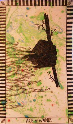 ace of wands tarot image