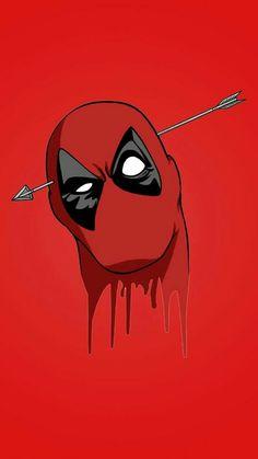 Cabeza de Deadpool