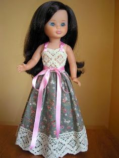 Pasión por nancy: RÉPLICAS Ropa American Girl, American Girl Clothes, Clothing Patterns, Dress Patterns, Nancy Doll, Daisy Mae, Wellie Wishers, Mini Vestidos, Toys For Girls
