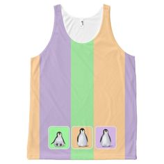 Baby Penguins All-Over-Print Tank Top #christmas #womensfashion #xmas #womensclothing