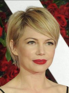 La coupe garçonne (Michelle Williams)