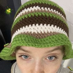 Cute Crochet, Crochet Crafts, Crochet Baby, Knit Crochet, Outfits With Hats, Mode Outfits, Knitting Projects, Crochet Projects, Crochet Designs