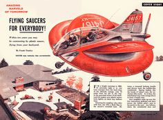 A 1954 Mechanix Illustrated article featuring every kid's dream.