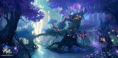Dark fantasy background wallpaper 2018 – ImgTopic – My Company Anime Art Fantasy, Dark Fantasy, Fantasy Concept Art, Fantasy City, Fantasy Forest, Fantasy Kunst, Fantasy Places, Fantasy Artwork, Fantasy World