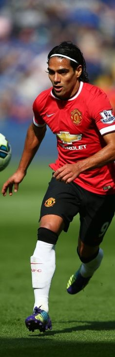 Radamel Falcao's first start for Manchester United - Official Manchester United Website