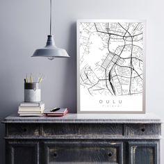 oulu streets juliste