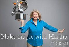 Martha Stewart wears Siman Tu's blue turquoise earrings!