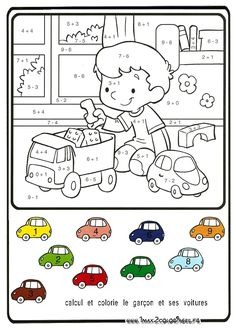 1 million+ Stunning Free Images to Use Anywhere Math Coloring Worksheets, Kids Math Worksheets, Preschool Activities, Preschool Learning, Kindergarten Math, Teaching Kids, Math For Kids, Kids Prints, Math Classroom