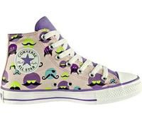 converse with mustaches - @Meghan Gardner - I think these would be perfect for a girl having a rock star party ;) I want some!!