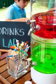 Science Birthday Party Ideas | Photo 8 of 24