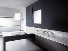 Moderne Dunstabzugshaube Als Blickfang In Der Küche   100 Design Ideen